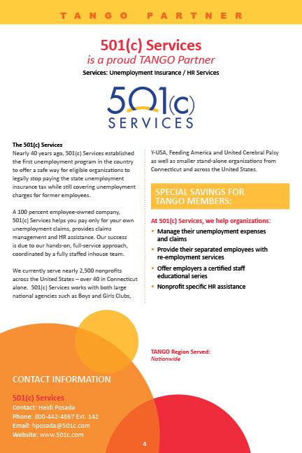 501c Services Value Prop image