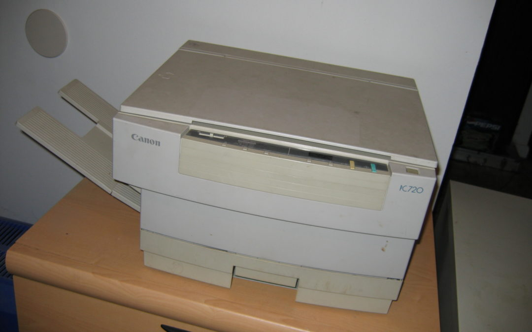 Canon PC 720 Photocopier