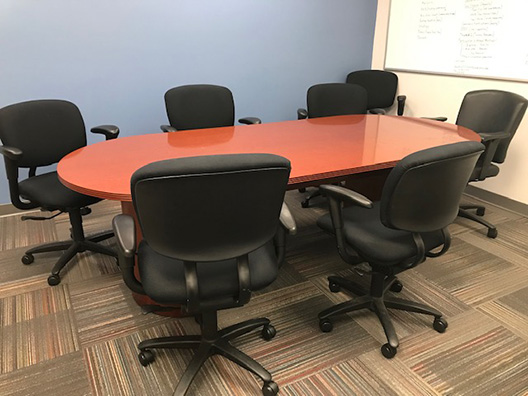 Office Round Table and Chairs