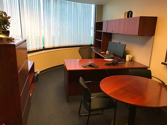 Office furniture (Desk, Table & File Cabinets)