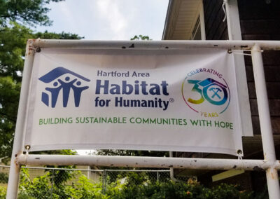 Hartford Area Habitat for Humanity sign