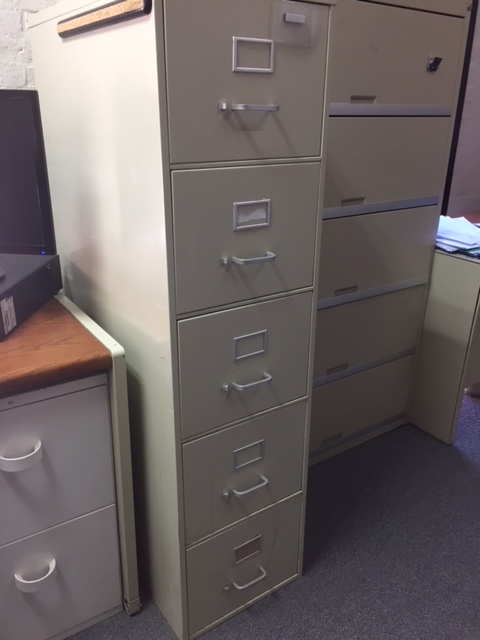 Tall File Cabinet 1