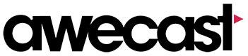 Awecast video logo
