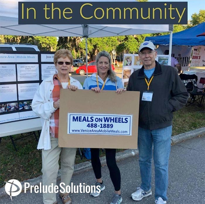 Prelude Solutions giving back to nonprofits
