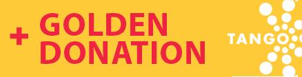 Golden Donation Button