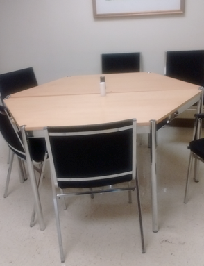 Hexagon Table with Chairs
